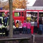 Brandschutzübung mit der Feuerwehr